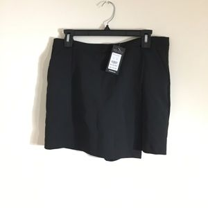 Black skort New Look size 10